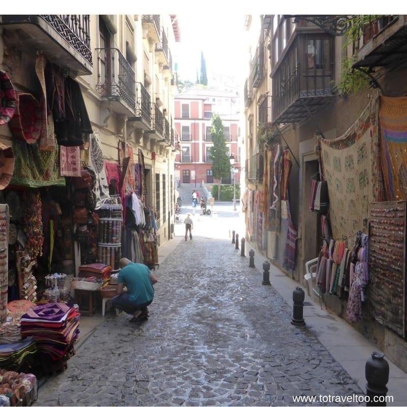 Calle Caldereria Nueva Granada
