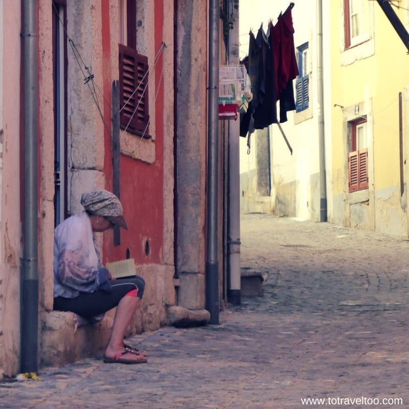 Lisbon Portugal and its back streets