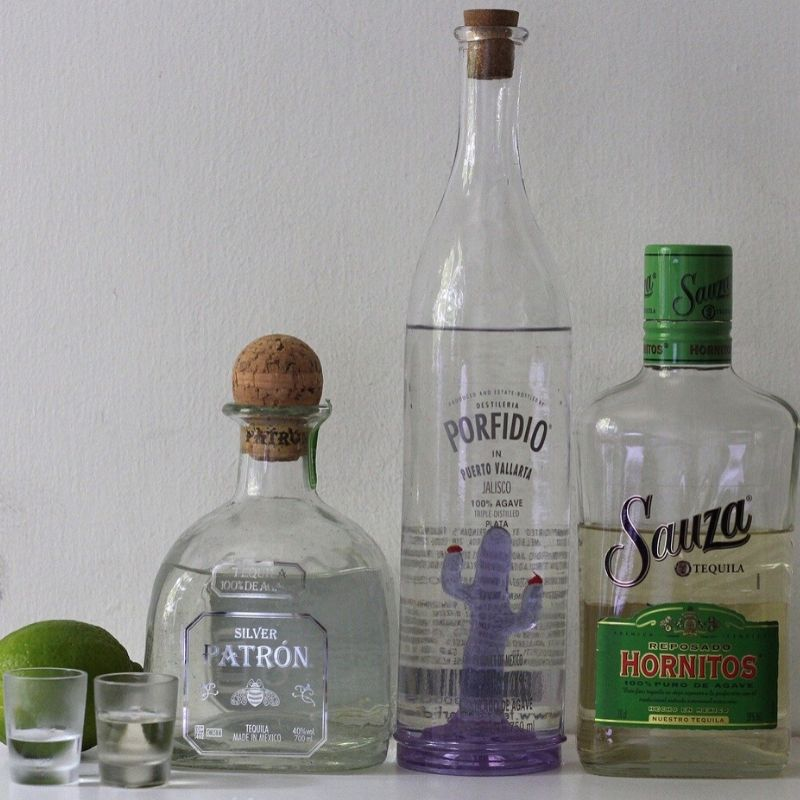 Tequila made in Jalisco State of Mexico