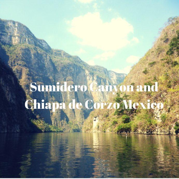 Sumidero Canyon Chiapas Mexico