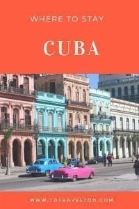 Where you should stay in Cuba