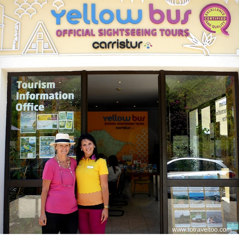 Yellow Bus Tour Madeira