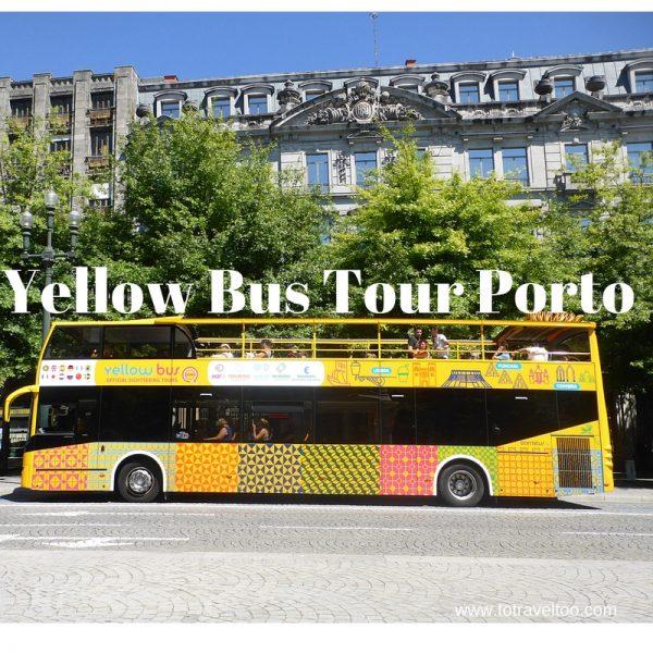 Yellow Bus Tours Porto