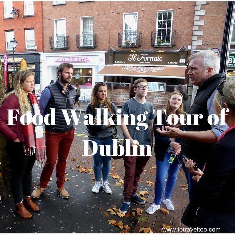 Food Walking Tour of Dublin
