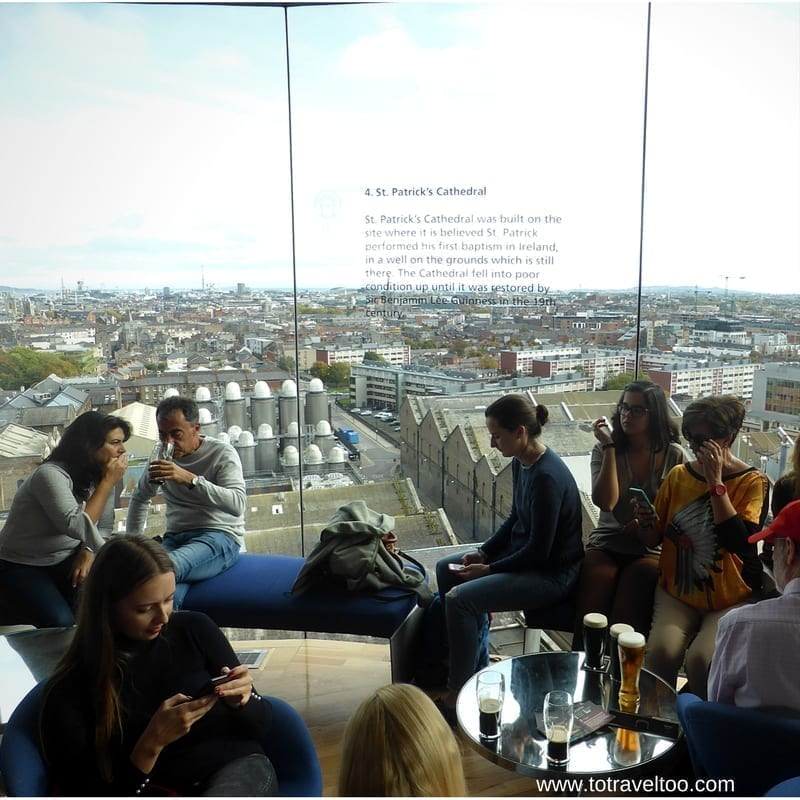 A full day at Guinness Storehouse