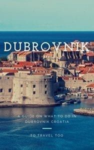 Our travel guide on Dubrovnik