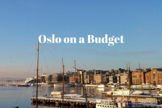 Oslo on a Budget