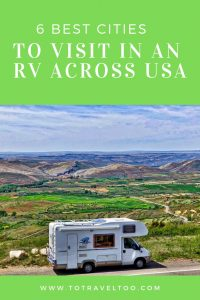 Cities in visit in an RV