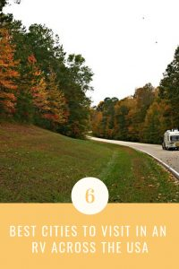 Cities to visit in an RV