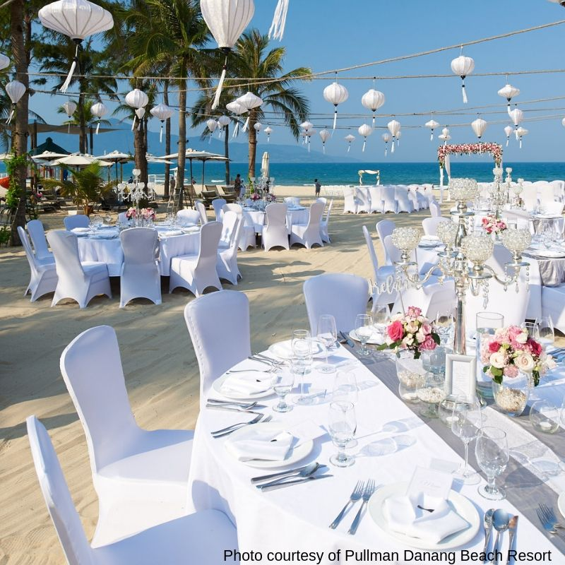 Weddings at the Pullman Danang Beach Resort - luxury escape in Vietnam