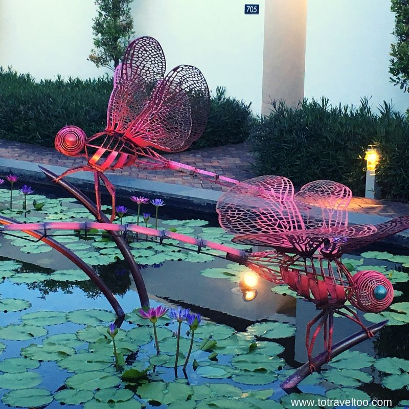 Dragonflies at Pullman Danang Beach Resort - luxury escape in Vietnam