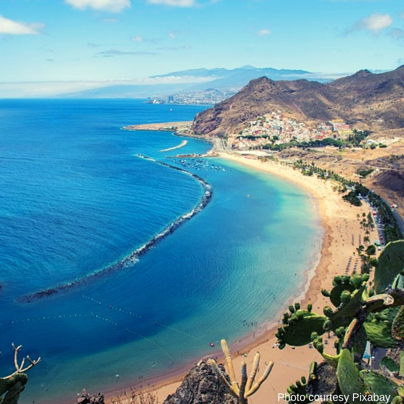 Playa de las Teresitas - Most Beautiful Places to visit in Tenerife