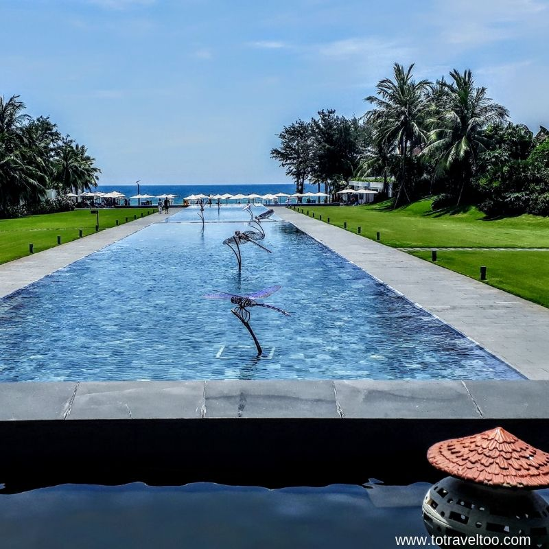 View from the Infinity Bar - luxury escape in Vietnam