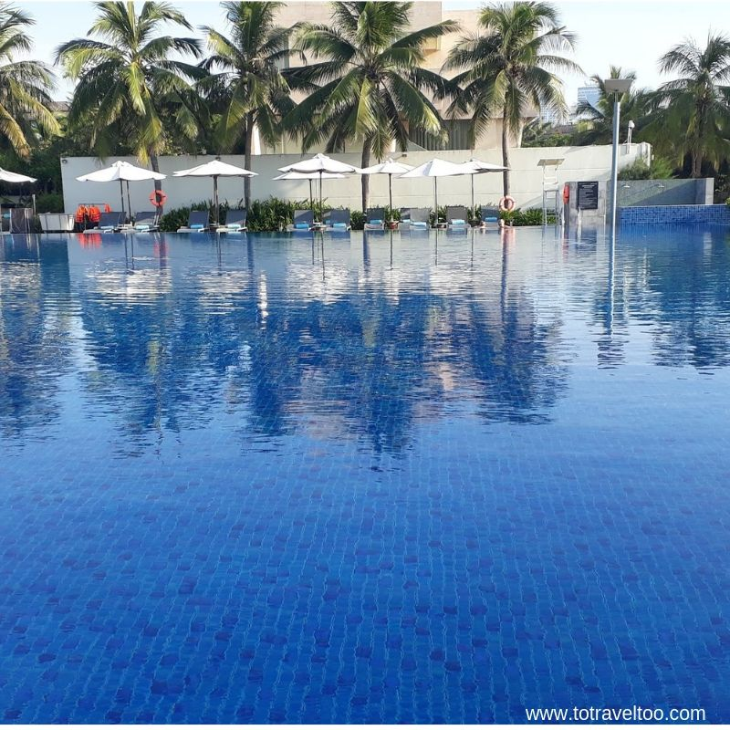 Swimming Pool at the Pullman Danang Beach Resort - luxury escape in Vietnam
