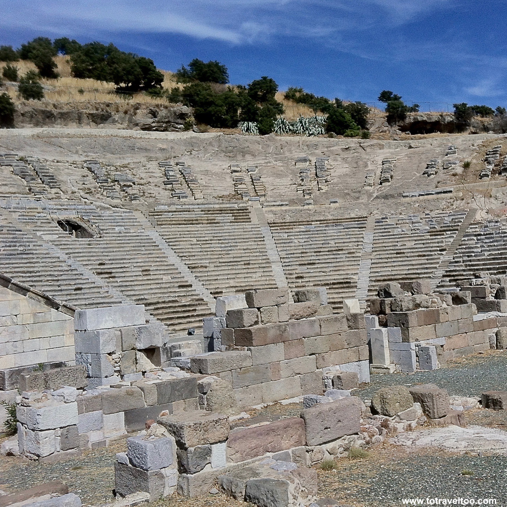 Ancient Ruins in Bodrum