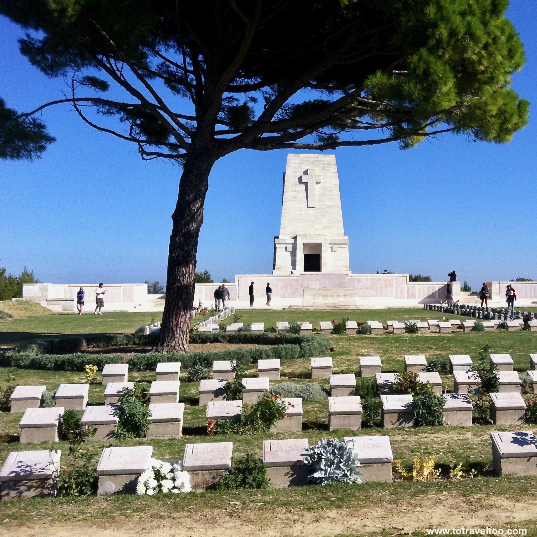Lone Pine Cemetery at Gallipoli