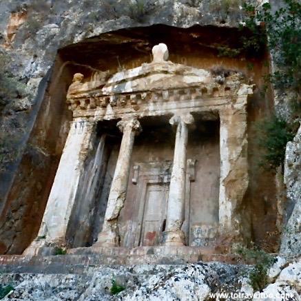 Lycian Rock Tombs in Fethiye