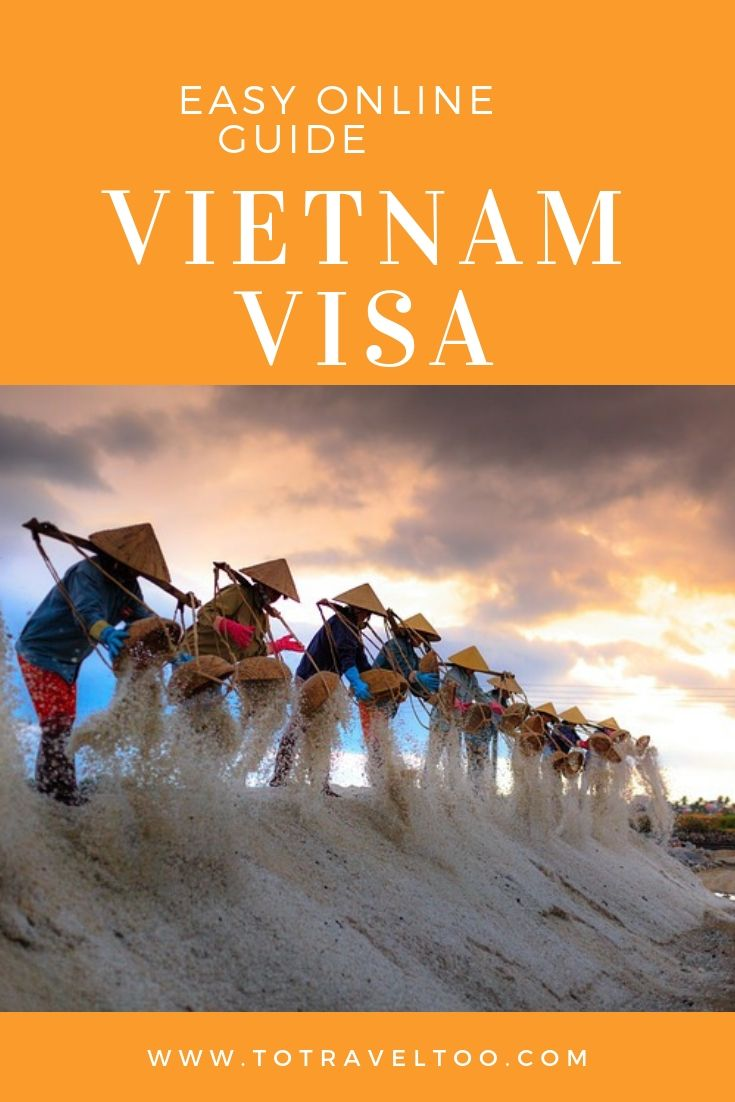 Vietnam Visa on Arrival Guide Pinterest