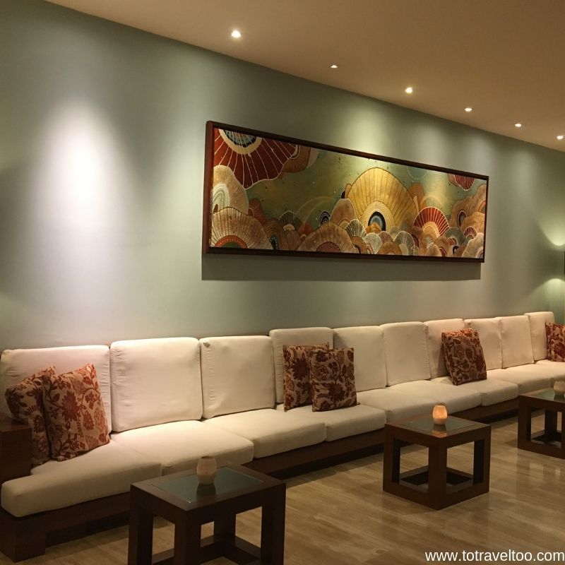 Relax in the Reception Area - luxury escape in Vietnam