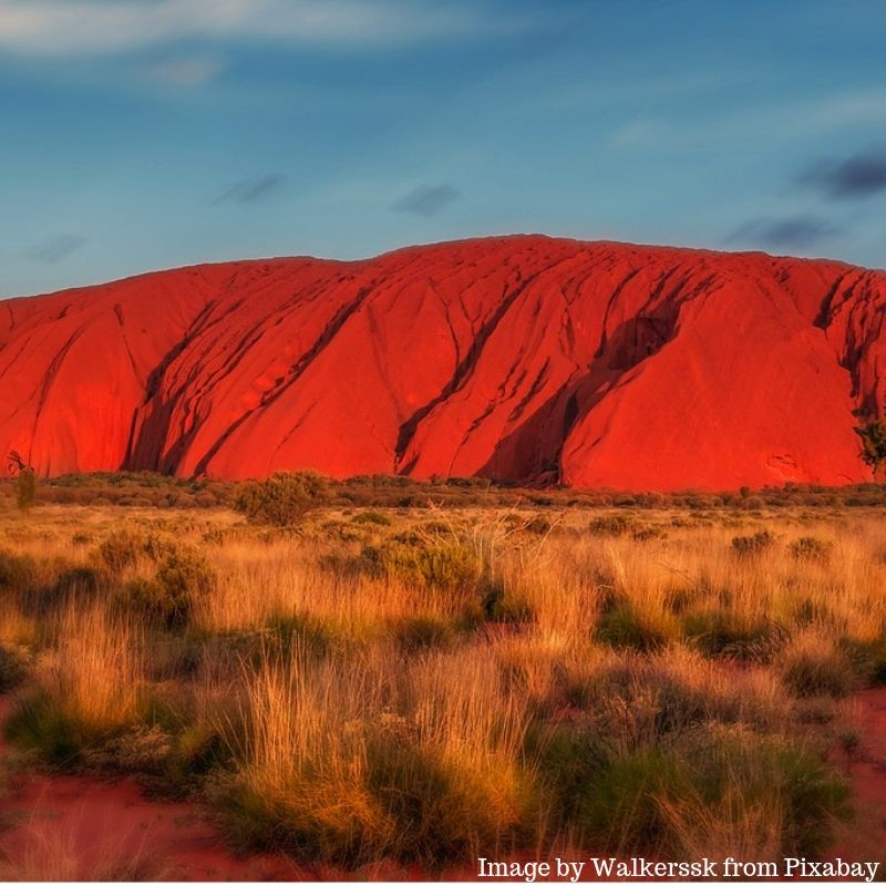 Uluru a destination in Australia