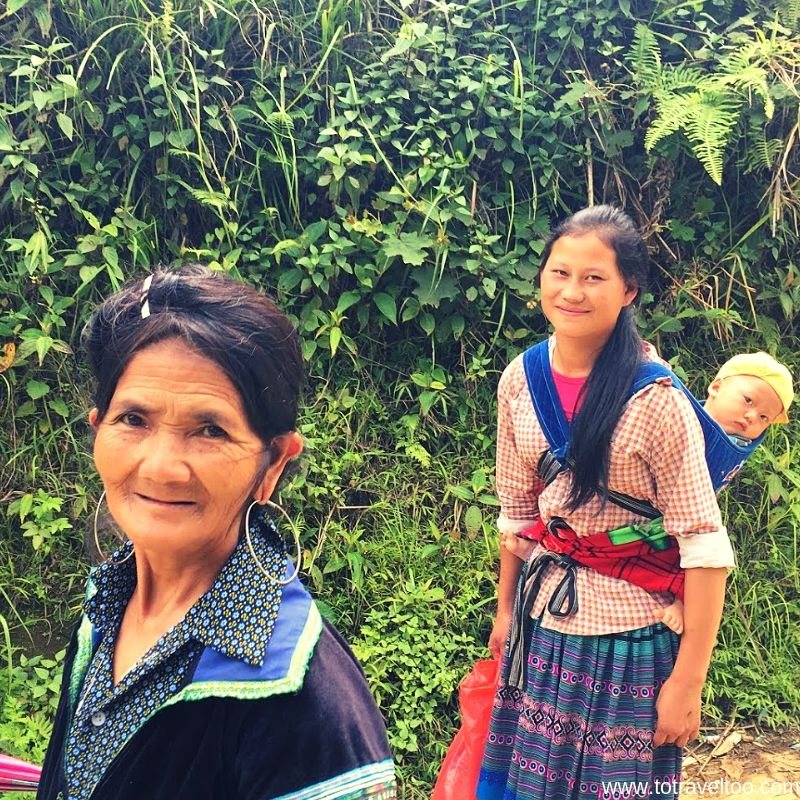 Ladies of the H'Mong Tribe