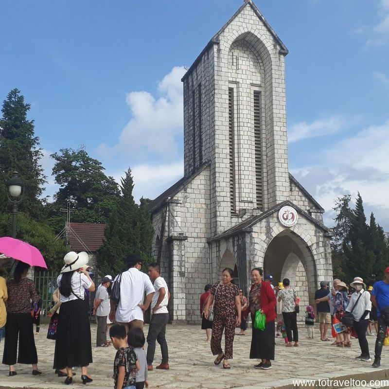Sapa Church - meeting point