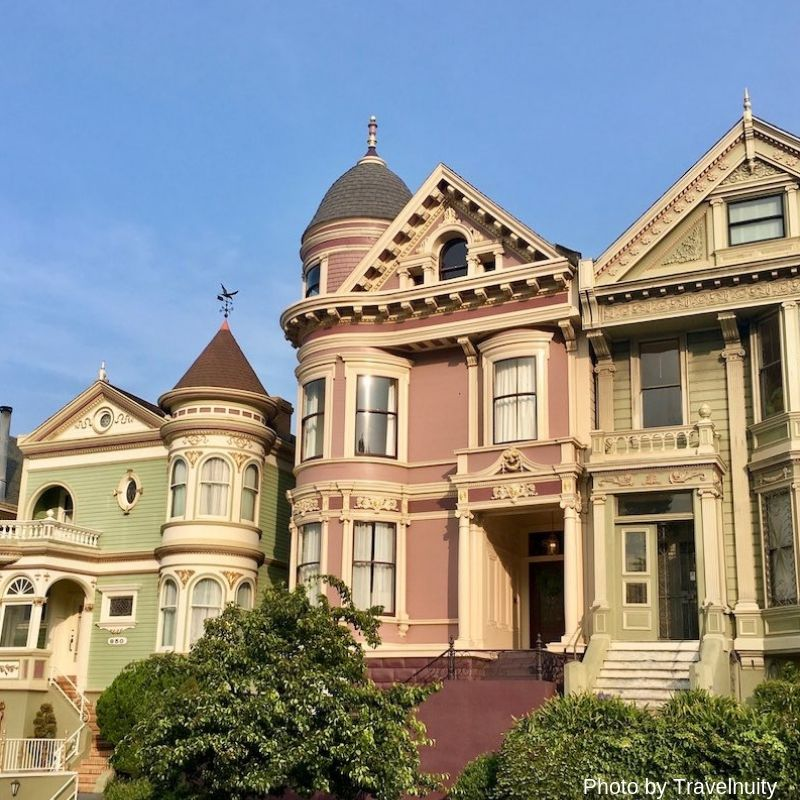 The Painted Ladies - 7 Top Things To Do in San Francisco