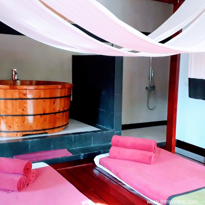 Enjoy a spa treatment at the Victoria Sapa Resort & Spa