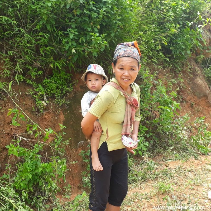 White Thai Ethnic Minority Group for our guide to Mai Chau Vietnam