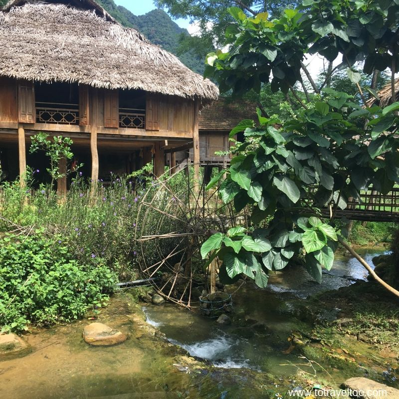 Lunch at the local homestay Our Guide to Mai Chau Vietnam