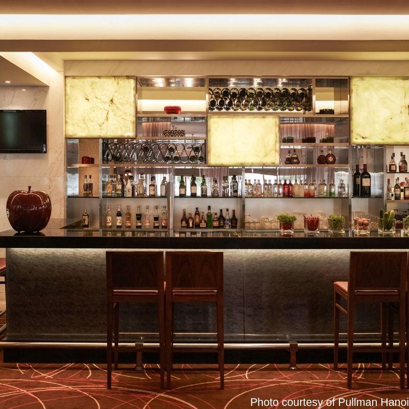 Mint Bar at the Pullman Hanoi Hotel