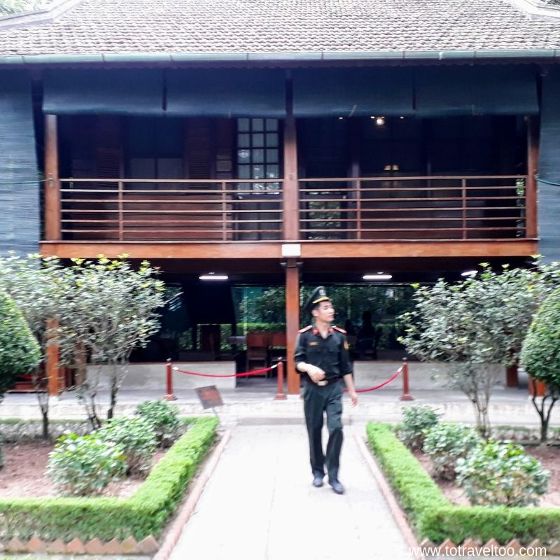 Ho Chi Minh's Stilt House