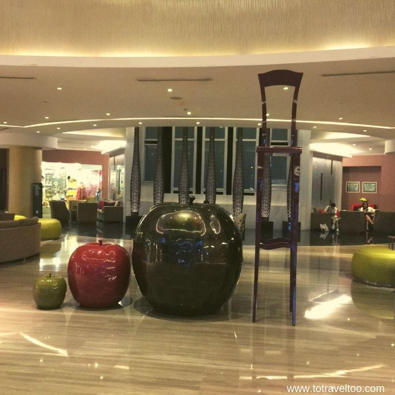 The Lobby of the Pullman Hanoi
