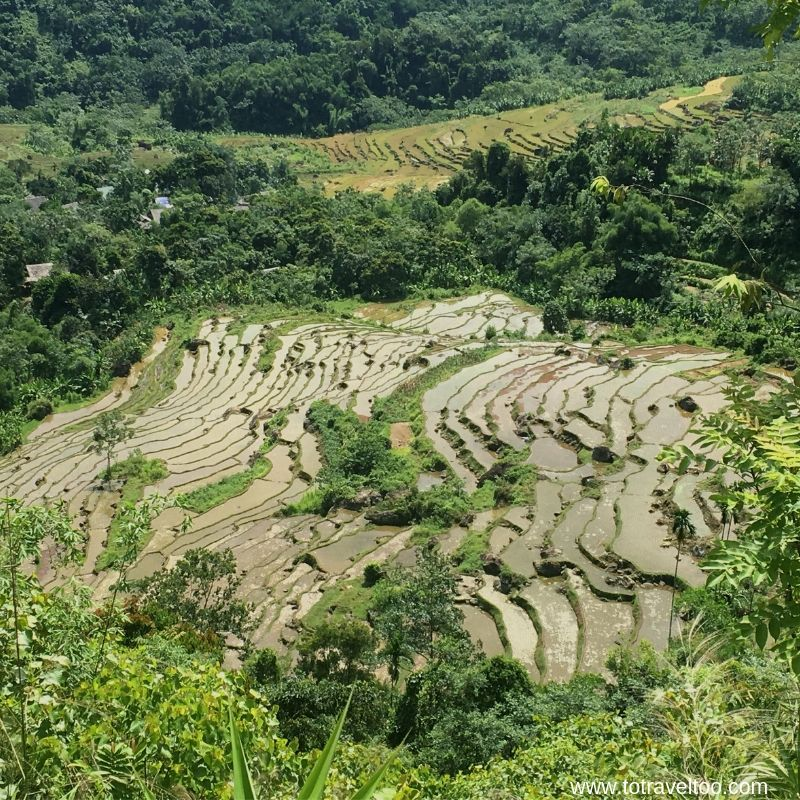 Where our trek will take us Pu Luong Nature Reserve for our guide to Mai Chau vietnam