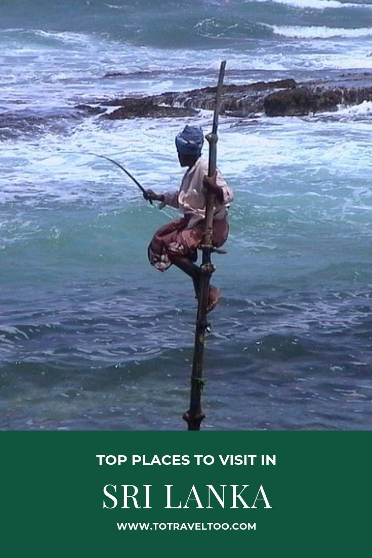 Fisherman - top places to visit in Sri Lanka
