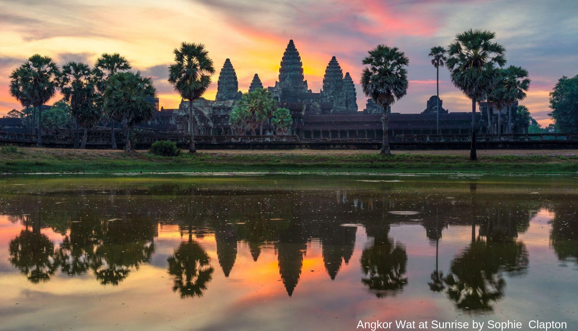 Exploring Asia Angkor Wat