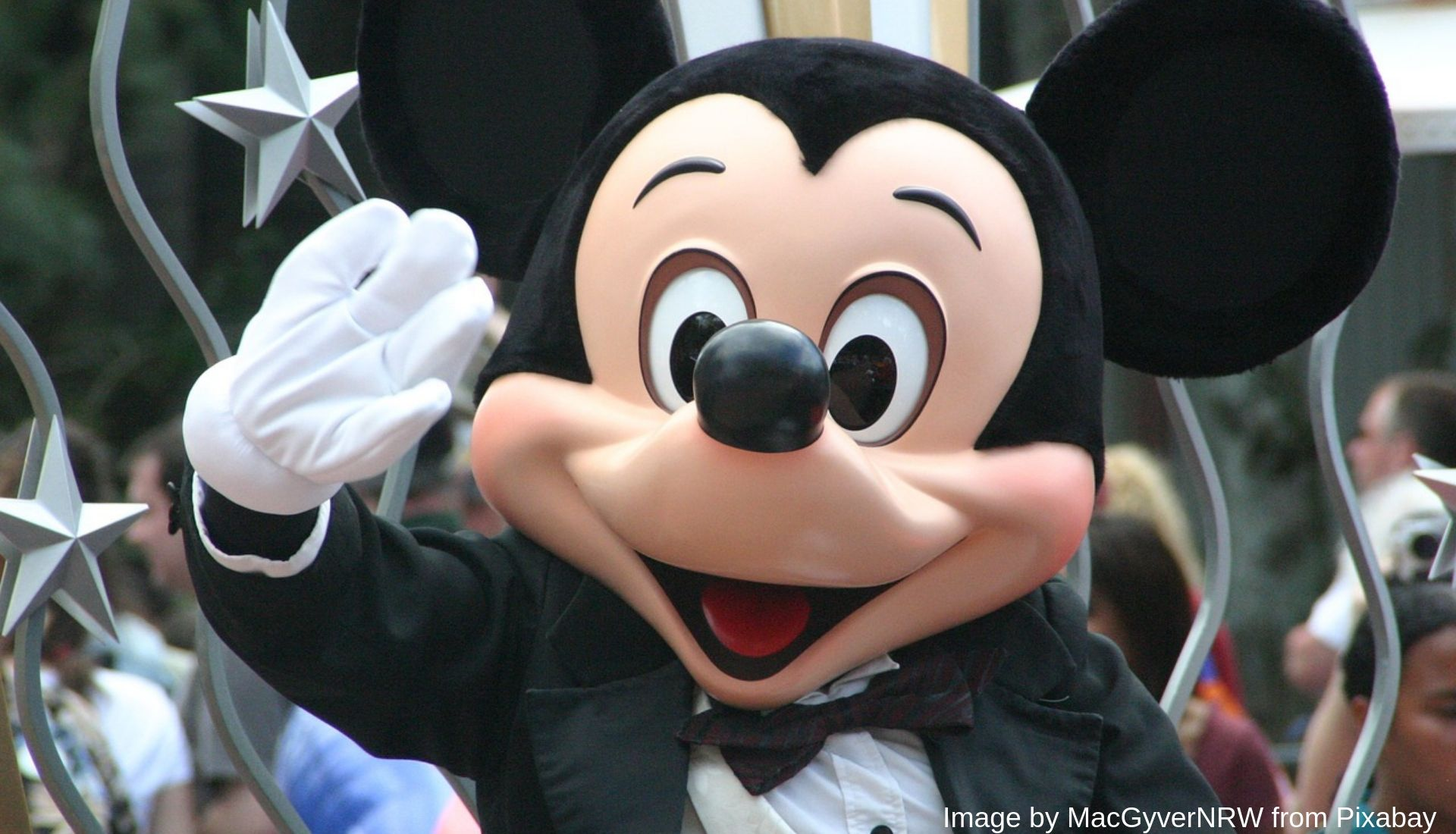 A trip to the USA Mickey Mouse
