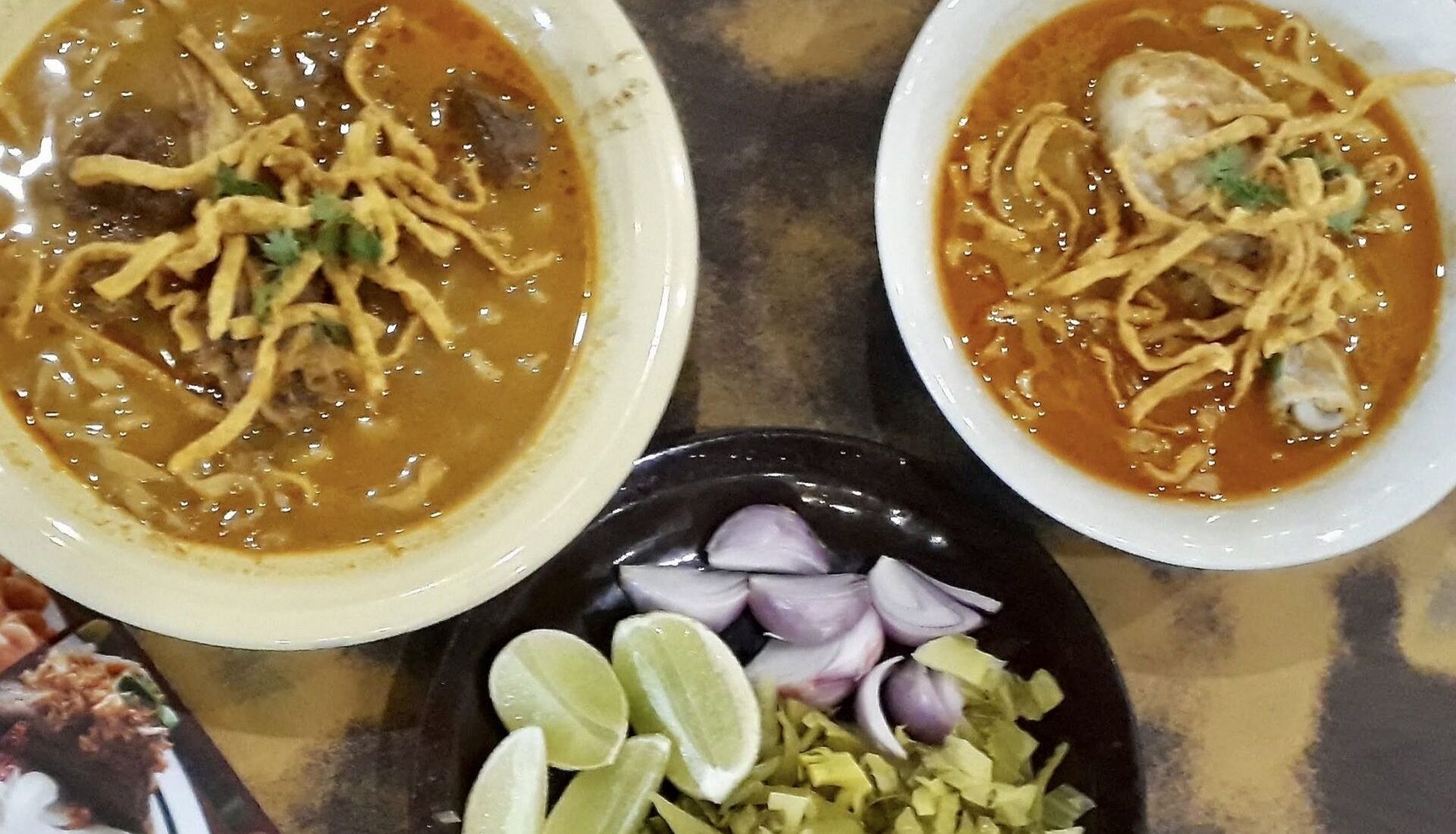 Khao Soi thai dish