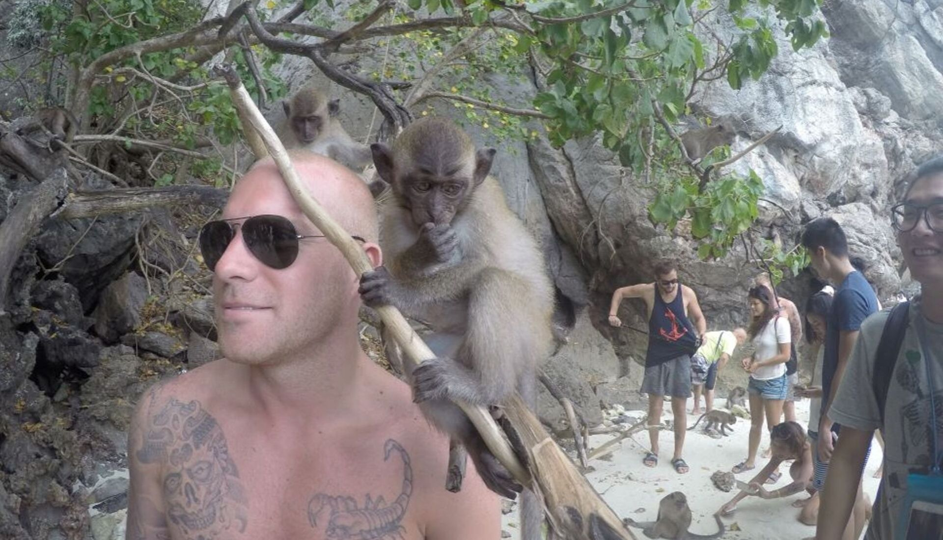 Exploring Asia - Monkey island