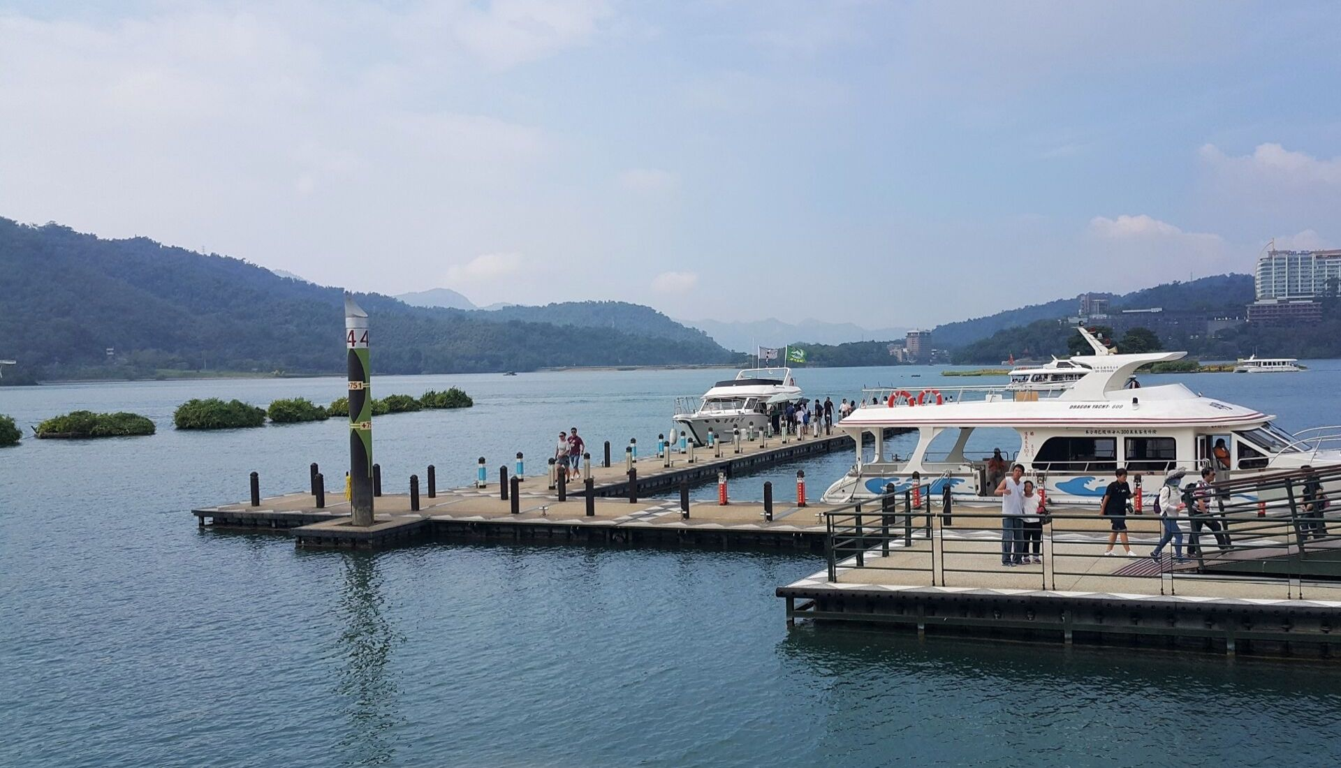 Exploring Asia Sun Moon Lake Taiwan