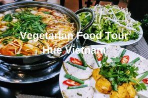 Vegetarian Food Tour Hue