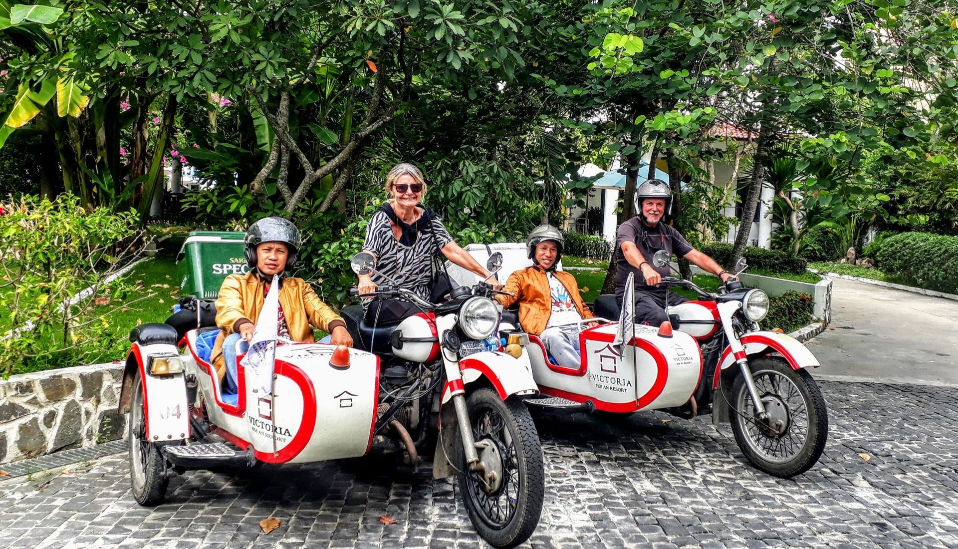 End of our sidecartours