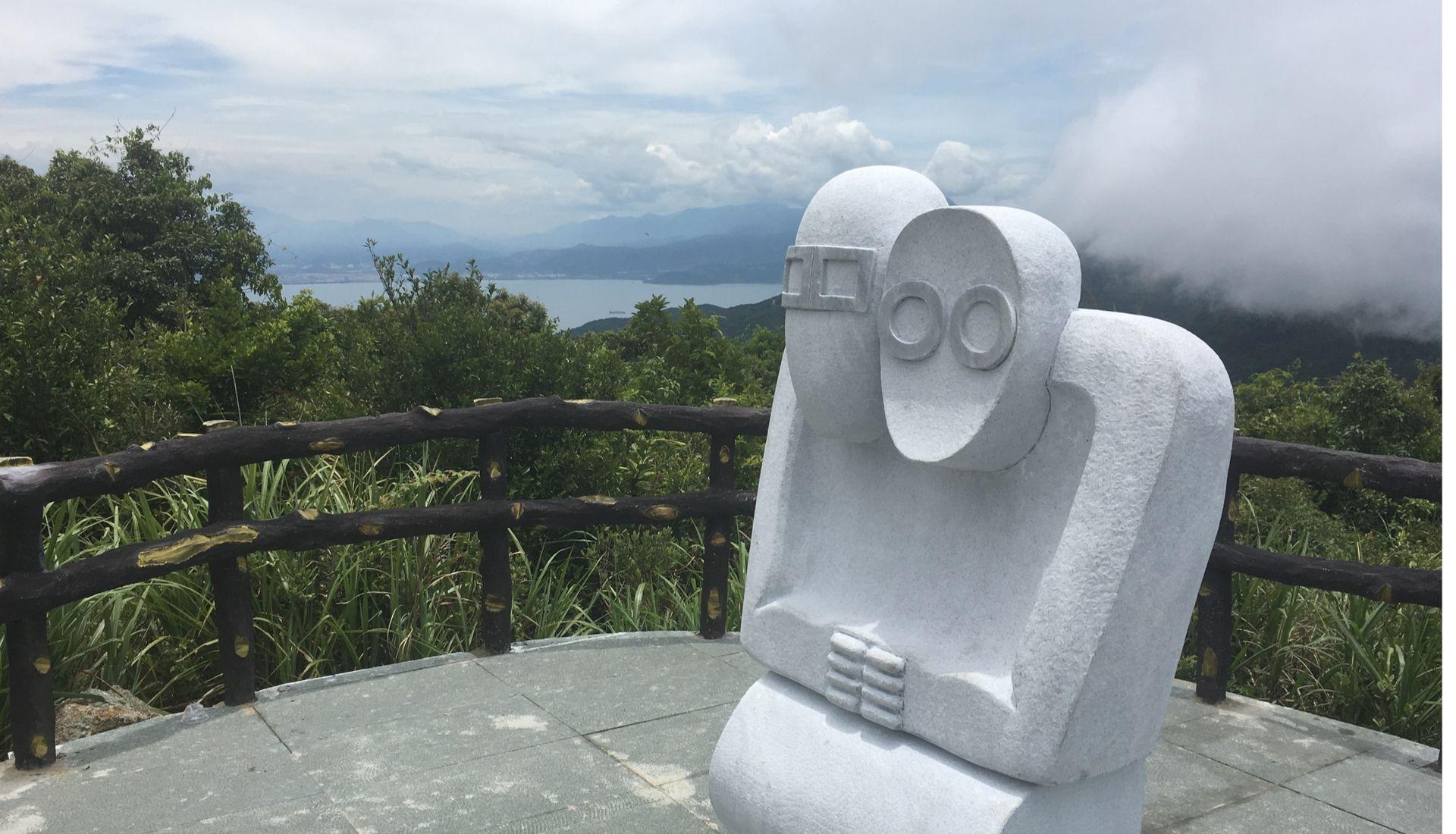 Monkeys (stone statues) Monkey Mountain