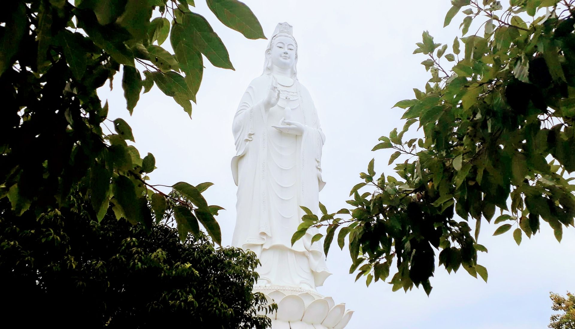 Lady Buddha at the Linh Ung Pagoda Complex