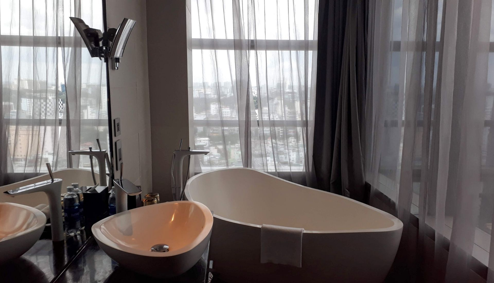 Views from the bathtub - 5 days in Saigon