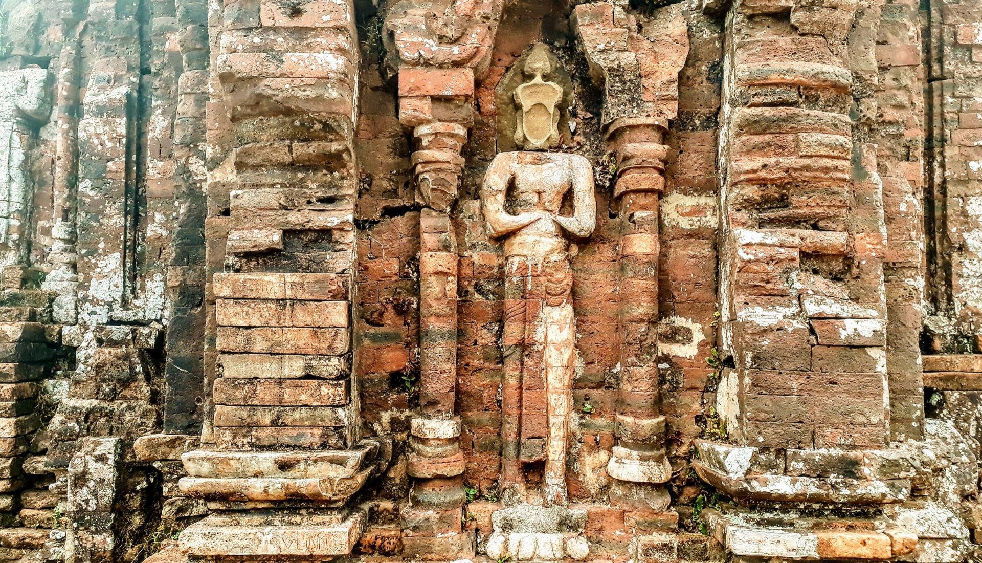 Hindu Carvings in Group B C D