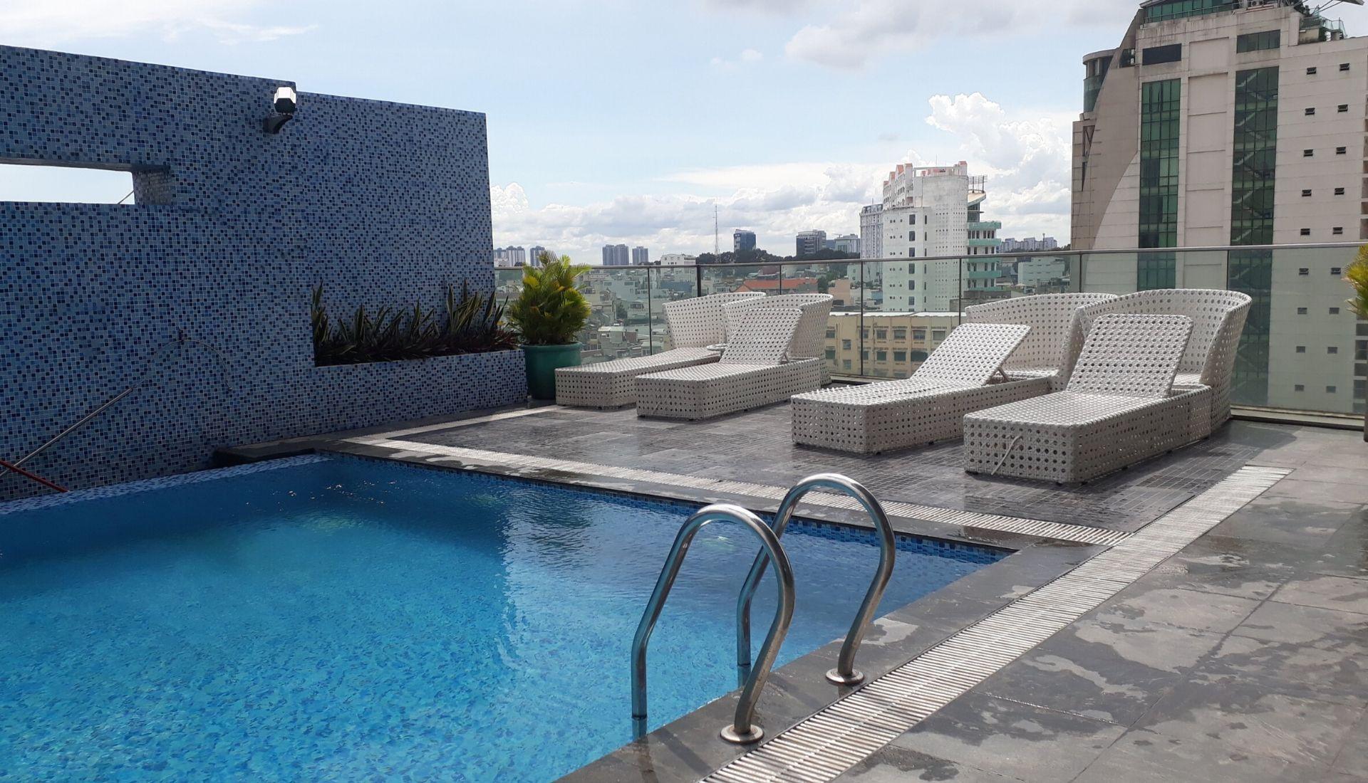 Swimming Pool at the Pullman Saigon Centre Hotel 5 days in Saigon