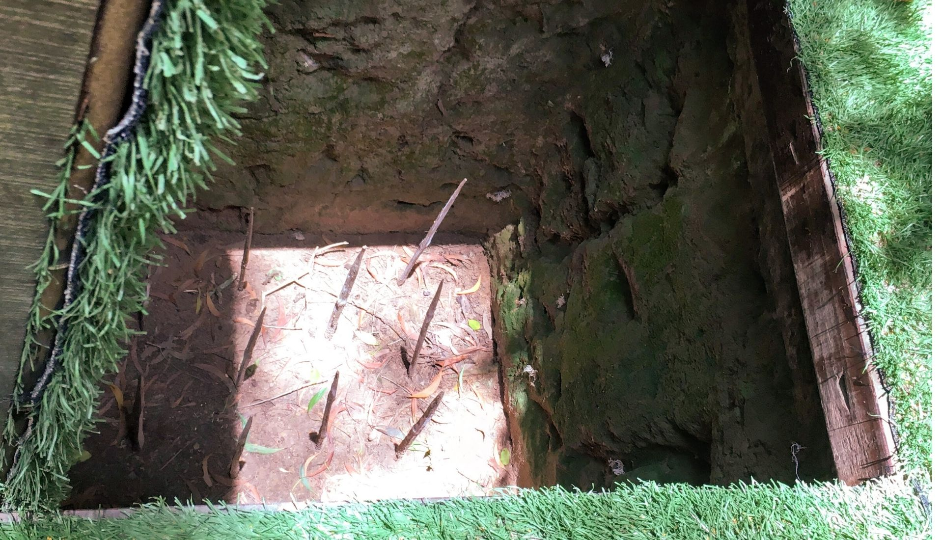 Many traps scattered throughout.