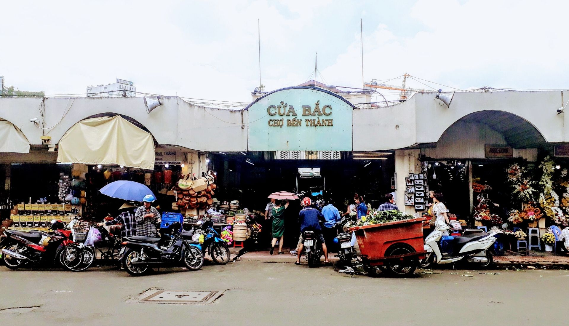 Ben Thanh Market - 5 days in Saigon