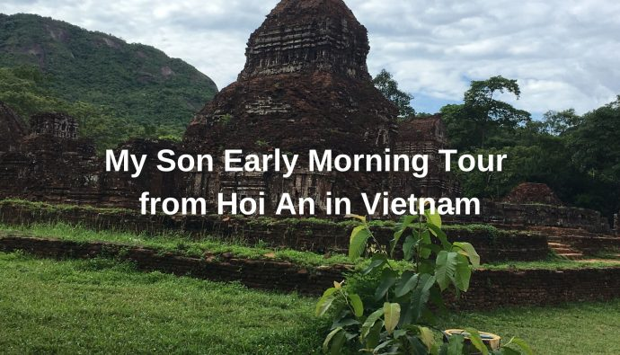 My Son Early Morning Tour from Hoi An in Vietnam